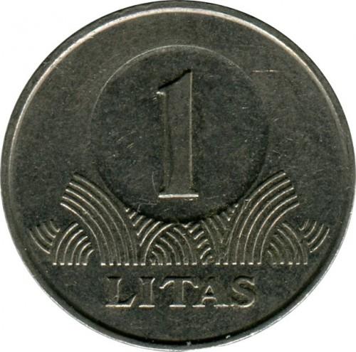 1 Litas 1998 2014 Lithuania Coin Value Ucoin