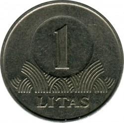Монета > 1лит, 1998-2014 - Литва  - obverse