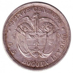 Moneda > 20centavos, 1897 - Colòmbia  - reverse