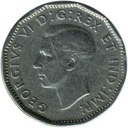 Moneta > 5centai, 1946-1947 - Kanada  - obverse