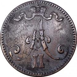 سکه > 5پنیا, 1865-1875 - فنلاند  - obverse