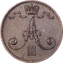Moneta > 1pensas, 1881-1894 - Suomija  - obverse