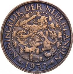 Coin > 1cent, 1930 - Netherlands  - obverse