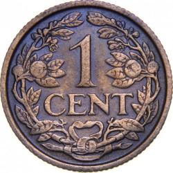 Coin > 1cent, 1930 - Netherlands  - reverse