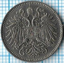 Moneta > 10hellers, 1894 - Austria  - reverse