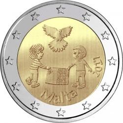 錢幣 > 2歐元, 2017 - 馬爾他  (和平) - obverse