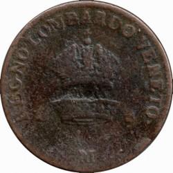 Монета > 1чентезимо, 1822-1834 - Ломбардо-Венеційське  - obverse