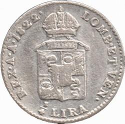 Монета > ¼ліри, 1822-1824 - Ломбардо-Венеційське  - reverse