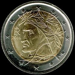 Moneda > 2euros, 2014 - Italia  - obverse