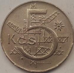Moneta > 5koron, 1991-1992 - Czechosłowacja  - reverse