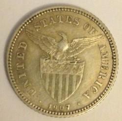 Monēta > 20sentavo, 1907-1929 - Filipīnas  - reverse