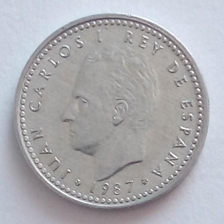 1 Peseta 1982 1989 Spanien Münzen Wert Ucoinnet
