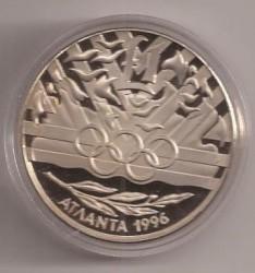 Монета > 1фунт, 1996 - Кипр  (XXVI летние Олимпийские Игры, Атланта 1996) - reverse