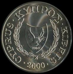 Монета > 1фунт, 2000 - Кипр  (XXVII летние Олимпийские Игры, Сидней 2000) - obverse