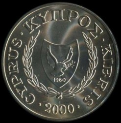Монета > 1фунт, 2000 - Кипр  (XXVII летние Олимпийские Игры, Сидней 2000) - reverse