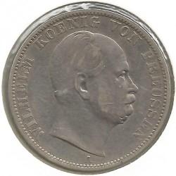 Moneda > 1vereinsthaler, 1864-1871 - Prusia  - obverse