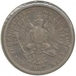 Moneda > 1vereinsthaler, 1864-1871 - Prusia  - reverse