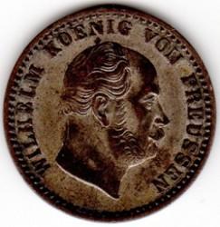 Moneda > 2½silbergroschen, 1861-1873 - Prusia  - obverse