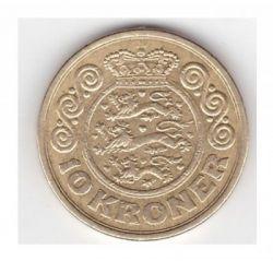 Монета > 10крон, 1989-1993 - Данія  - obverse