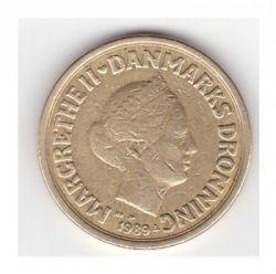 Münze > 10Kronen, 1989-1993 - Dänemark   - reverse