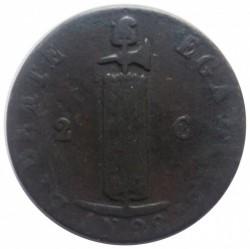 Moneta > 2centymy, 1828-1842 - Haiti  - obverse