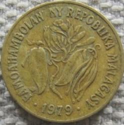 錢幣 > 10法郎, 1979 - 馬達加斯加  - obverse