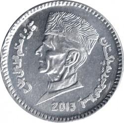 Монета > 1рупія, 2007-2019 - Пакистан  - obverse