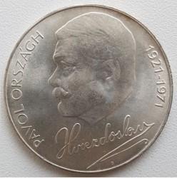 Moneta > 50corone, 1971 - Cecoslovacchia  (50° anniversario - Morte di Pavol Országh Hviezdoslav) - reverse