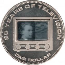 Moneta > 1doleris, 2006 - Kuko Salos  (80th Anniversary - Television) - reverse