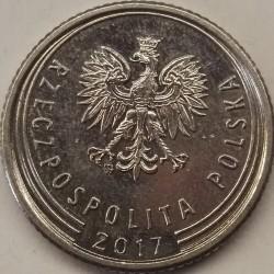 Monedă > 50groși, 2017-2018 - Polonia  - obverse