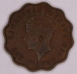 Mynt > 1piastre, 1949 - Cypern  - obverse
