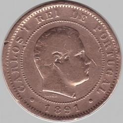 Münze > 10Réis, 1891-1892 - Portugal  - obverse