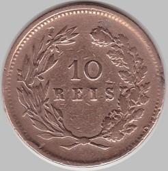 Münze > 10Réis, 1891-1892 - Portugal  - reverse