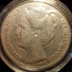 Moneta > 2½fiorini, 1898 - Paesi Bassi  - obverse