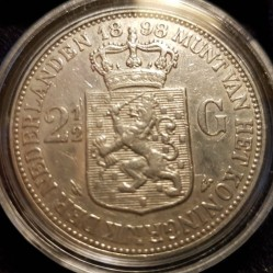 Moneta > 2½fiorini, 1898 - Paesi Bassi  - reverse