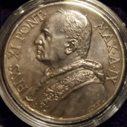 Монета > 10лир, 1929-1937 - Ватикан  - obverse