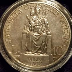 Монета > 10лир, 1929-1937 - Ватикан  - reverse