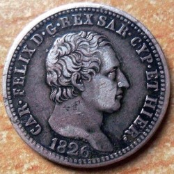 Moneta > 1lira, 1824-1830 - Sardegna  - reverse