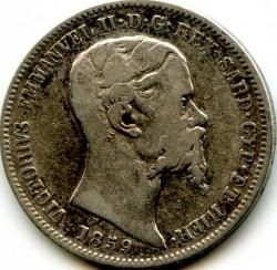 Монета > 1ліра, 1850-1860 - Сардинія  - obverse
