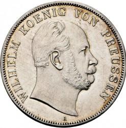Moneda > 2vereinsthaler, 1865-1871 - Prusia  - obverse