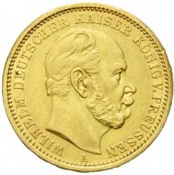 Moneda > 20marcos, 1874-1888 - Alemán (Imperio)  - obverse