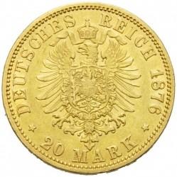 Moneda > 20marcos, 1874-1888 - Alemán (Imperio)  - reverse
