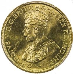 Moneda > 6pence, 1920-1936 - Àfrica Occidental Britànica  - obverse