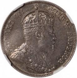 Coin > 25cents, 1906-1907 - British Honduras  - obverse