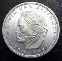 Moneda > 5marcos, 1970 - Alemania  (200º Aniversario - Nacimiento de Ludwig van Beethoven) - reverse