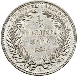 Moneta > ½marco, 1894 - Nuova Guinea Tedesca  - reverse