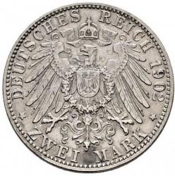 Moneda > 2marcos, 1902-1913 - Alemán (Imperio)  - reverse