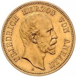 Moneta > 20marchi, 1896-1901 - Impero Tedesco  - obverse