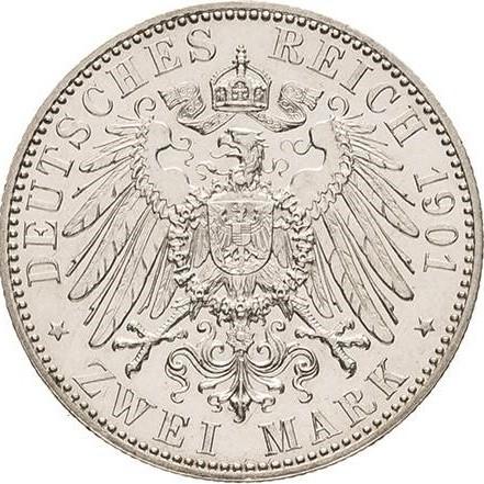 2 Mark 1901 Deutsches Kaiserreich Münzen Wert Ucoinnet