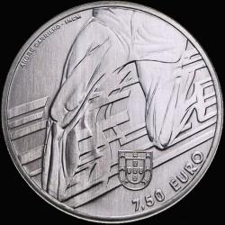 Монета > 7½евро, 2017 - Португалия  (Sports Idols - Carlos Lopes) - obverse
